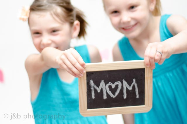 2 mothers day chalk board