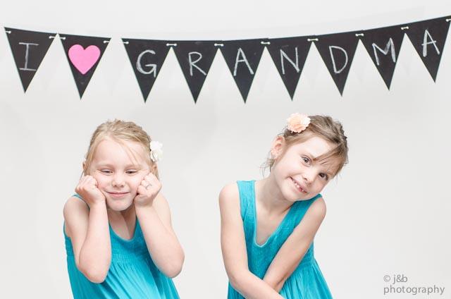 9 i heart grandma banner